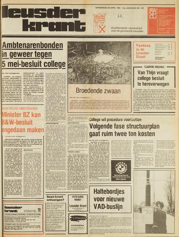 Leusder Krant 1982-04-29