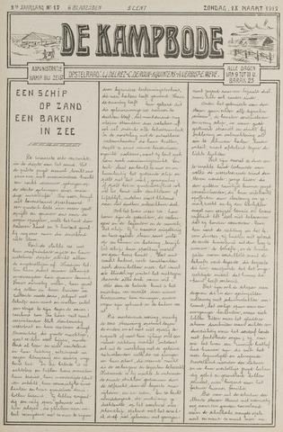De Kampbode 1917-03-18