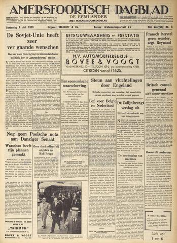 Amersfoortsch Dagblad / De Eemlander 1939-07-06