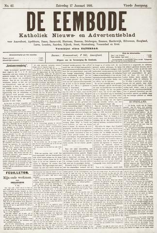 De Eembode 1891-01-17