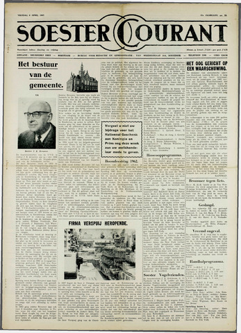 Soester Courant 1962-04-06