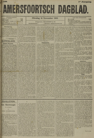 Amersfoortsch Dagblad 1902-11-18