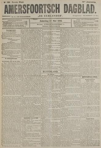 Amersfoortsch Dagblad / De Eemlander 1916-05-27
