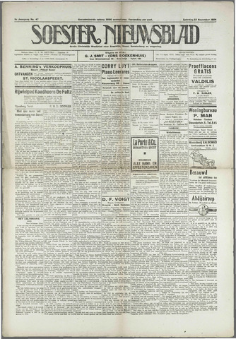 Soester Courant 1924-11-22