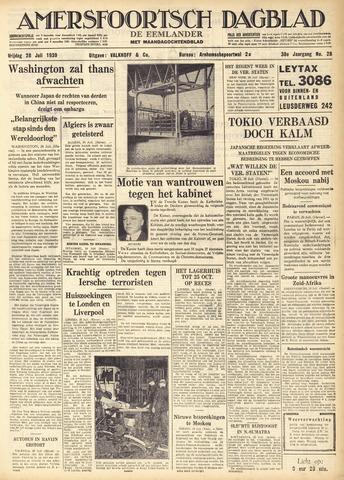 Amersfoortsch Dagblad / De Eemlander 1939-07-28