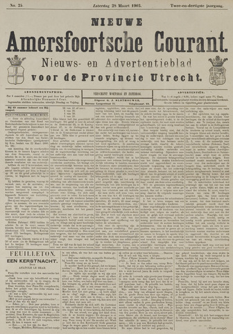 Nieuwe Amersfoortsche Courant 1903-03-28