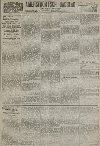 Amersfoortsch Dagblad / De Eemlander 1918-07-31
