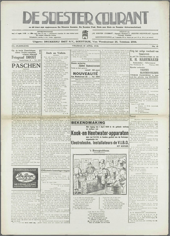 Soester Courant 1938-04-15
