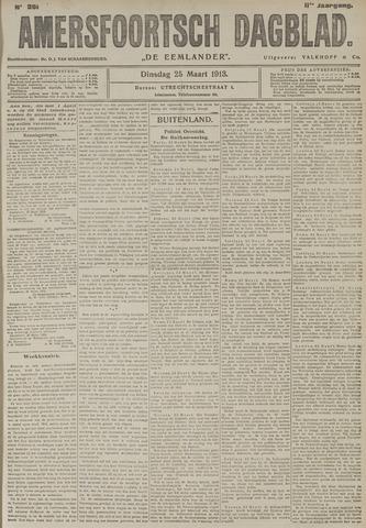 Amersfoortsch Dagblad / De Eemlander 1913-03-25