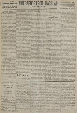Amersfoortsch Dagblad / De Eemlander 1919-02-24