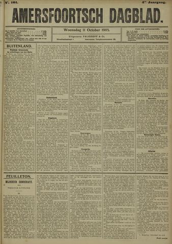 Amersfoortsch Dagblad 1905-10-11