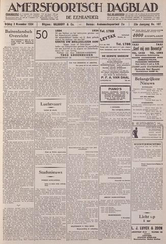 Amersfoortsch Dagblad / De Eemlander 1934-11-02