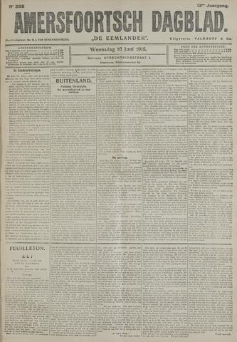 Amersfoortsch Dagblad / De Eemlander 1915-06-16