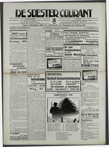 Soester Courant 1939-12-22