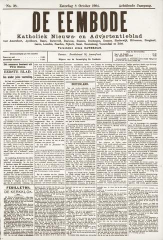 De Eembode 1904-10-08