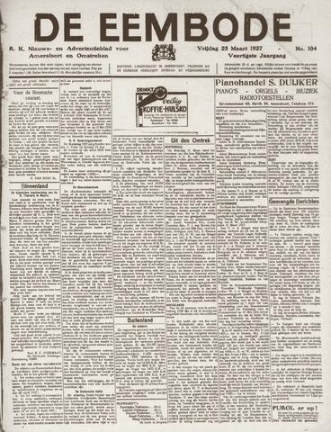 De Eembode 1927-03-25