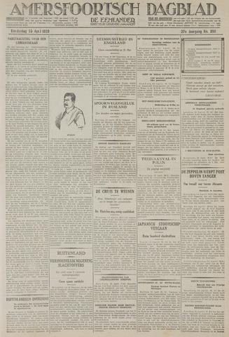 Amersfoortsch Dagblad / De Eemlander 1929-04-25