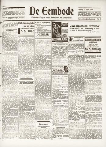 De Eembode 1934-09-14