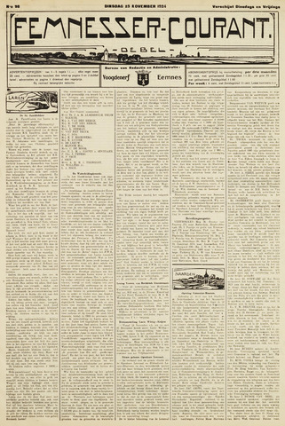 Eemnesser Courant 1924-11-25