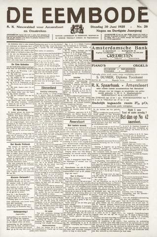 De Eembode 1925-06-30