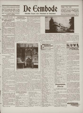 De Eembode 1933-12-01