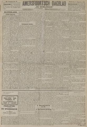 Amersfoortsch Dagblad / De Eemlander 1919-08-21
