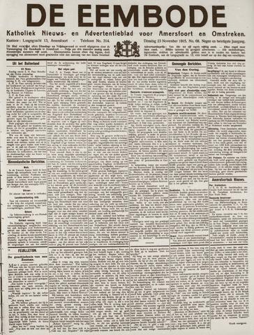 De Eembode 1915-11-23