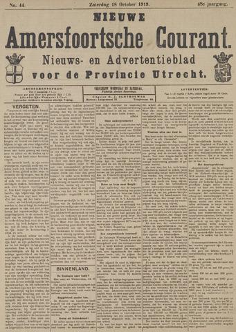 Nieuwe Amersfoortsche Courant 1919-10-18