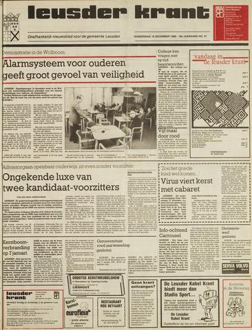 Leusder Krant 1986-12-18