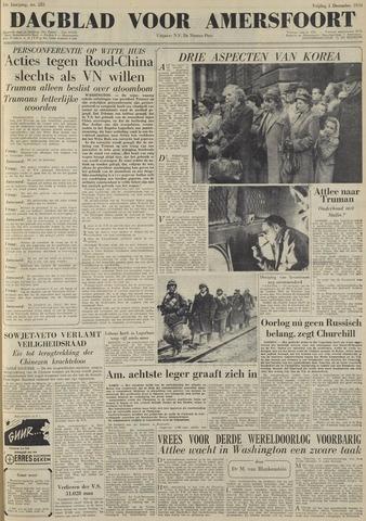 Dagblad voor Amersfoort 1950-12-01