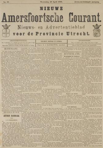Nieuwe Amersfoortsche Courant 1898-04-20