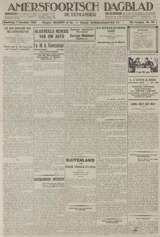 Amersfoortsch Dagblad / De Eemlander 1930-12-11