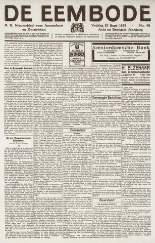 De Eembode 1924-09-12