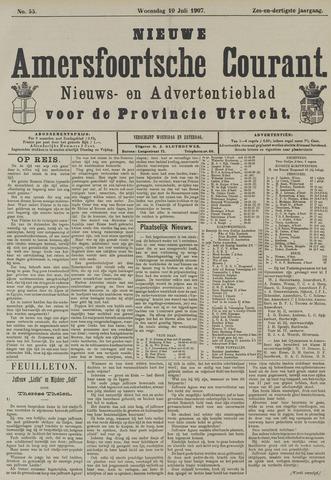 Nieuwe Amersfoortsche Courant 1907-07-10