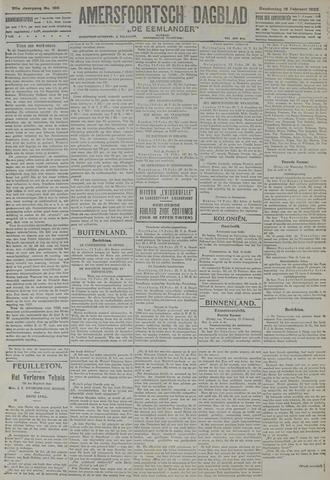 Amersfoortsch Dagblad / De Eemlander 1922-02-16