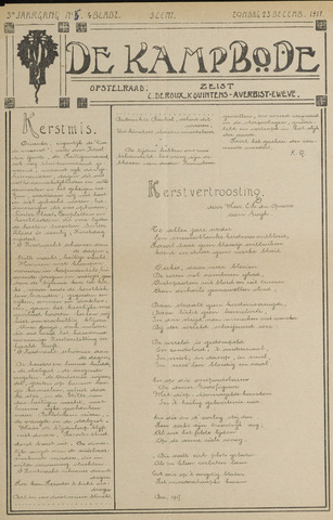 De Kampbode 1917-12-23