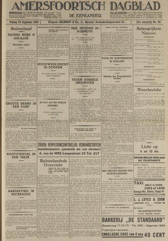 Amersfoortsch Dagblad / De Eemlander 1933-08-25