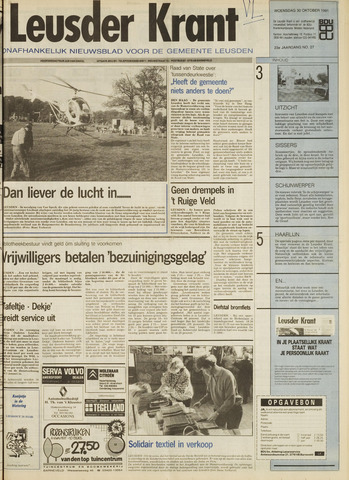Leusder Krant 1991-10-30