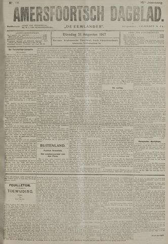 Amersfoortsch Dagblad / De Eemlander 1917-08-21