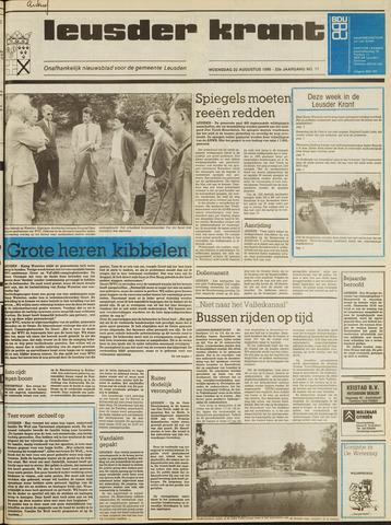Leusder Krant 1990-08-22
