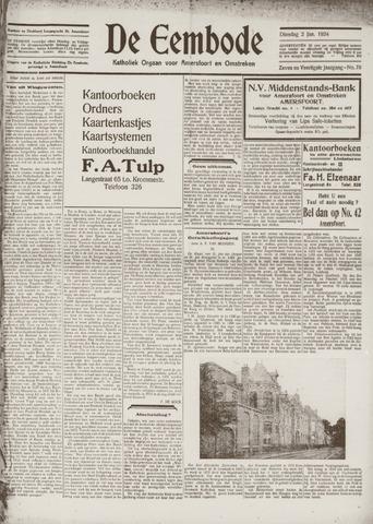 De Eembode 1934