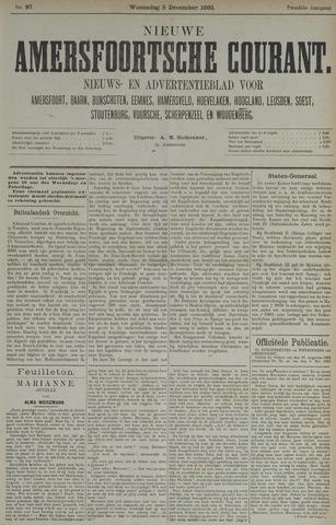 Nieuwe Amersfoortsche Courant 1883-12-05