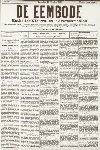 De Eembode 1896-10-10
