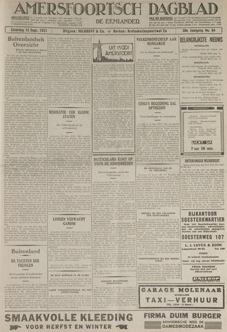 Amersfoortsch Dagblad / De Eemlander 1931-09-12