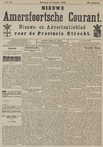Nieuwe Amersfoortsche Courant 1913-10-18