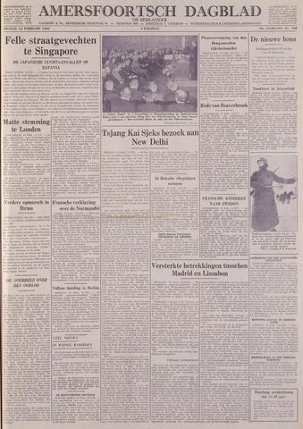 Amersfoortsch Dagblad / De Eemlander 1942-02-13