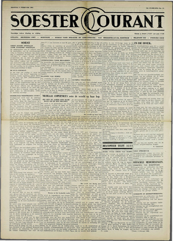 Soester Courant 1960-02-09