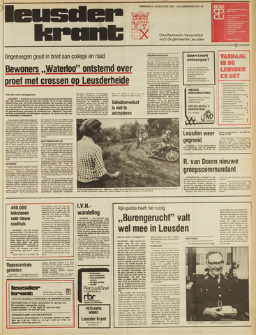 Leusder Krant 1981-08-11