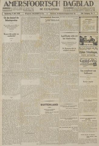 Amersfoortsch Dagblad / De Eemlander 1930-07-03