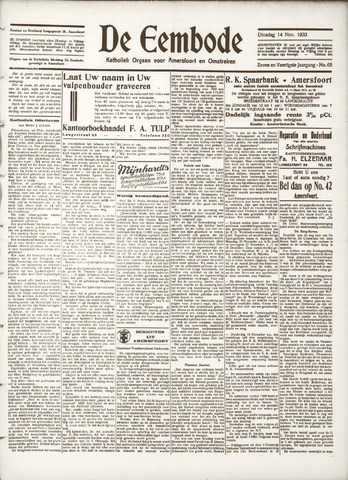De Eembode 1933-11-14
